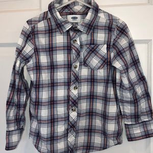Old navy button down shirt size 5T